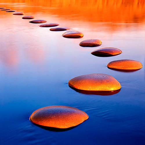 Image result for stepping stones