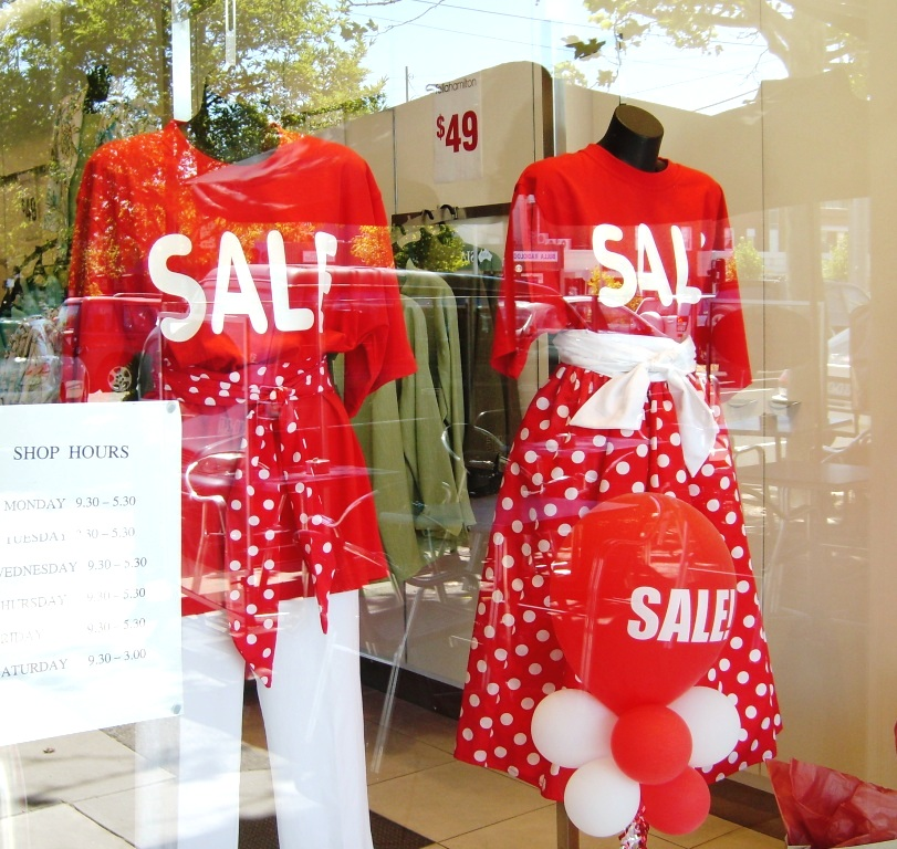 Melbourne - SALE - window