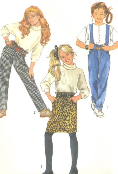 vintage teen clothing patterns