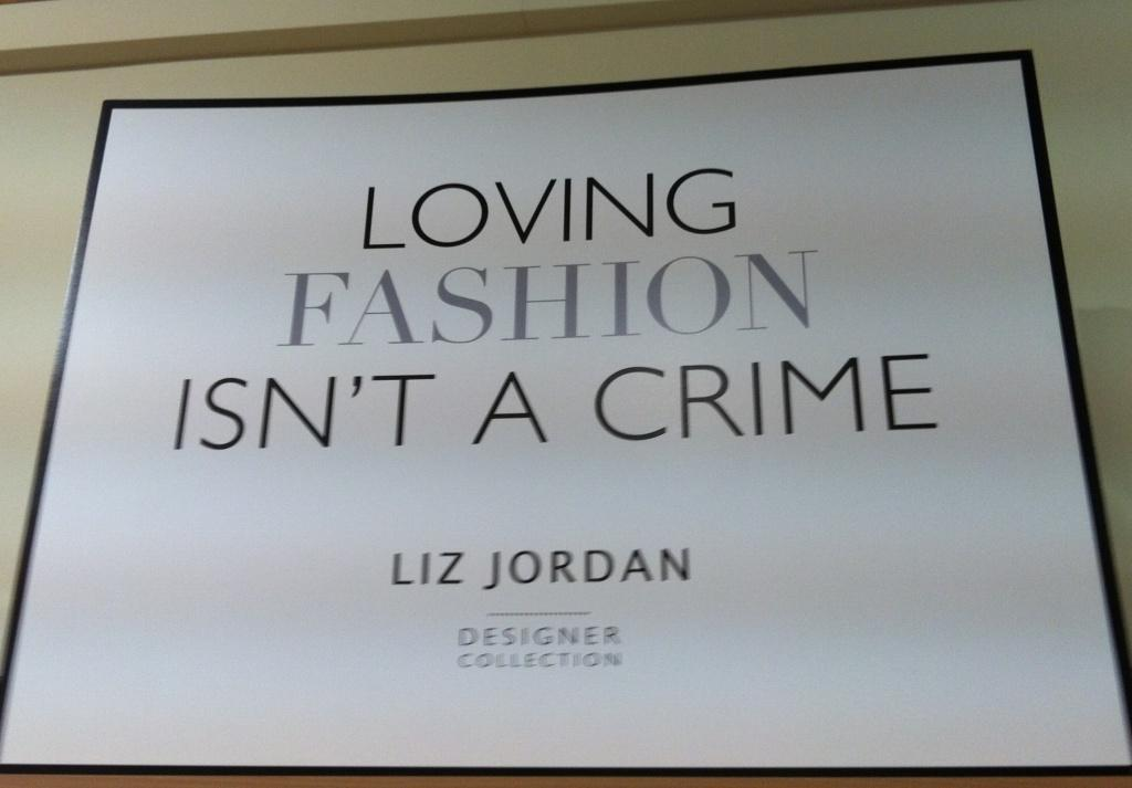 Loving Fashion Isnt a Crime - quote