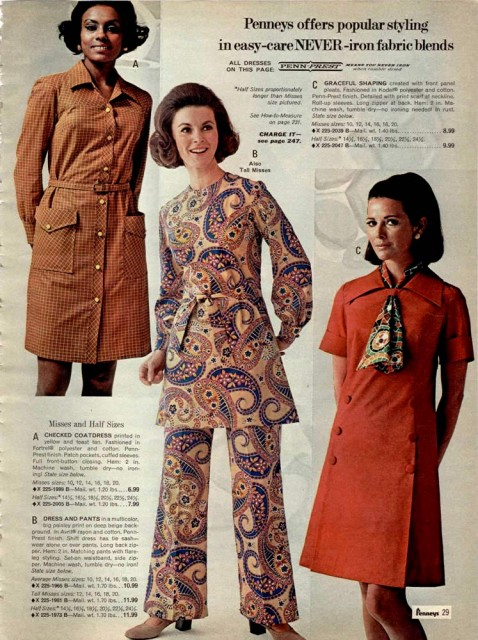 1970-womens-no-iron-fashions | My Year Without Clothes ...