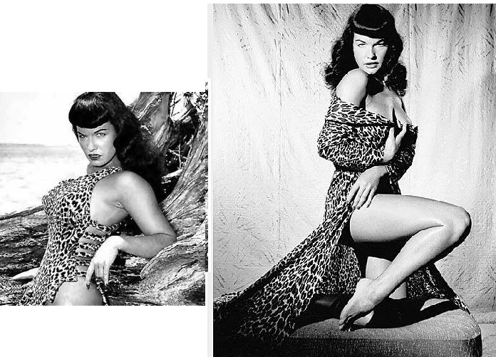 Bettie Page - 'queen of curves'