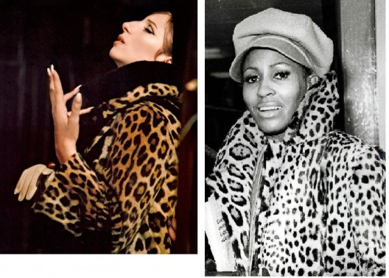 Barbra Streisand and Tina Turner - the songstresses
