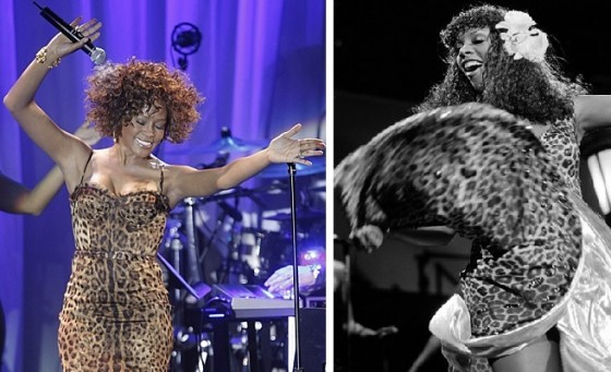 Whitney Houston and Donna Summer - the voices