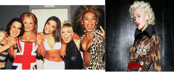 Scary Spice and Gwen Stefani - the pop singers