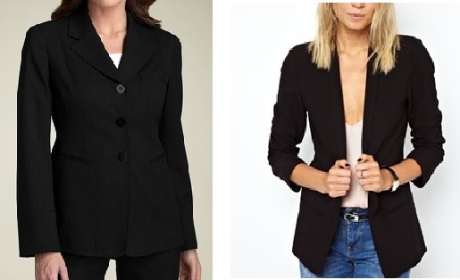 The difference a simple alteration can make to a tailoured and traditional blazer!