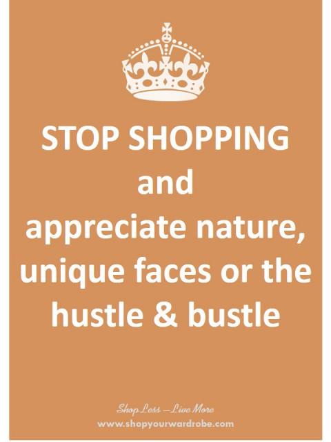 23 - appreciate hustle and bustle