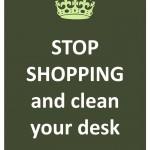 34 - clean your desk