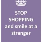37 - smile at a stranger