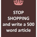45 - write a 500 word article