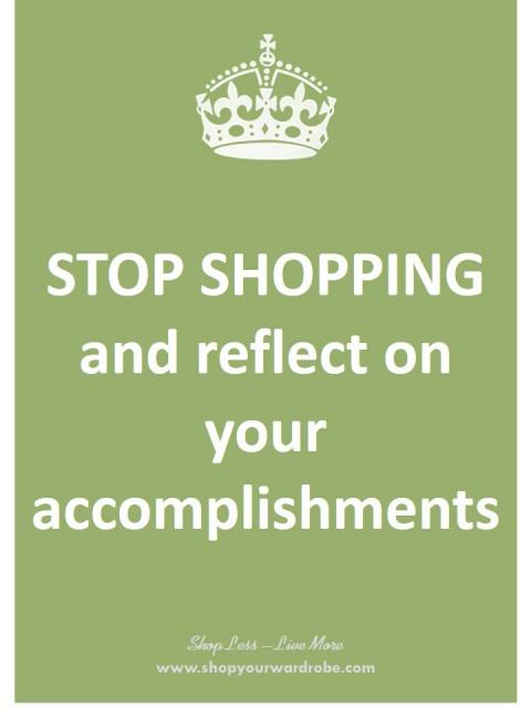 48- reflect on accomplishments