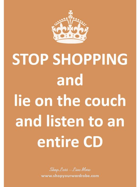 6- lie on couch-listen to CD