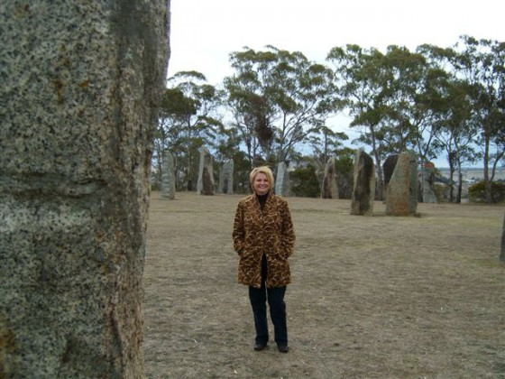 Out in the most magnificent of nature: the standing stones at Glen Innes