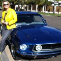 A day out in a classic Mustang - what a treat!