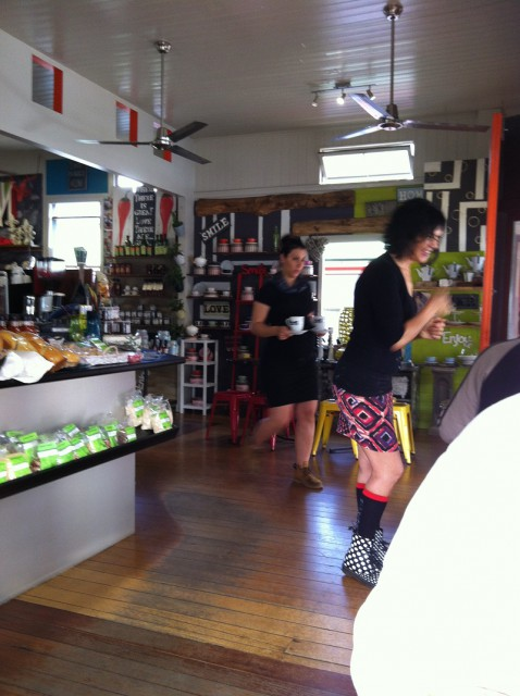 The funky destination-café, the Kenilworth Bakery