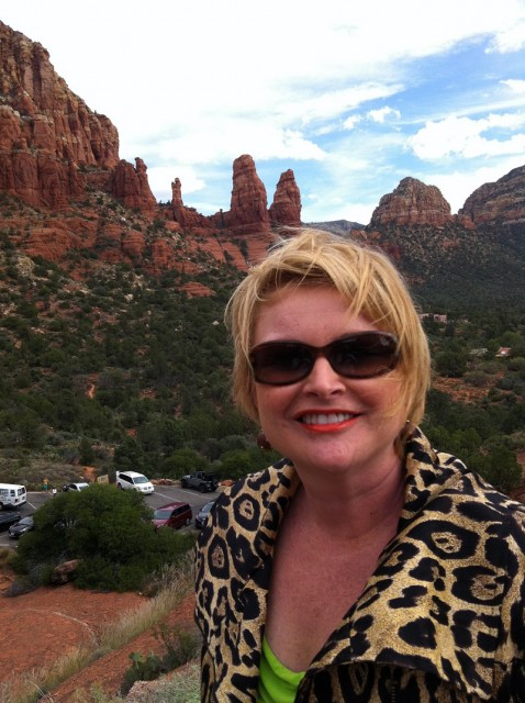 On vacation in Sedona, Arizona