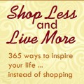 Shop Less and Live More badge 250x250