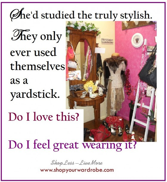 Truly stylish