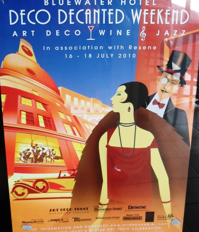 Art Deco Posters: My Year Without Clothes Shopping