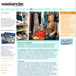 Jill writes as a guest contributor to Weekender